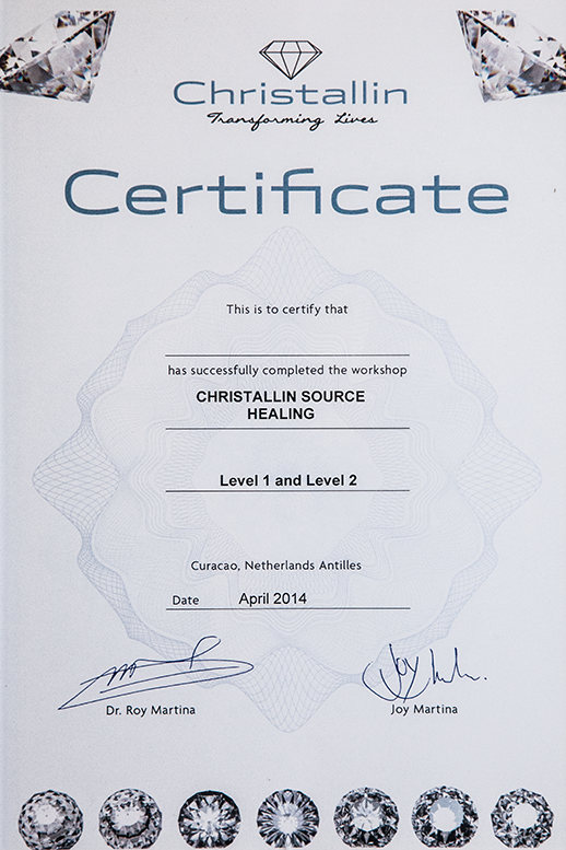 CHRISTALLIN SOURCE HEALING THERAPY®