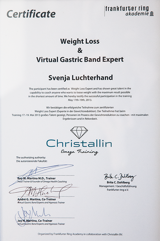 WEIGHT LOSS & VIRTUAL GASTRIC BAND EXPERT®